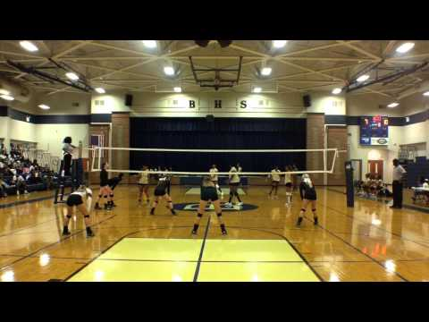 BHS vs Paul W Bryant High School set 1, Tri-match on 9-3-2015