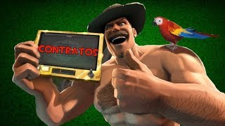 TF2 - Jungle Inferno Update - Contratos