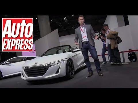 Honda S660 at the Tokyo Motor Show 2013 - Auto Express