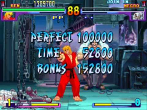 Street Fighter III New Generation Playthrough with Ken