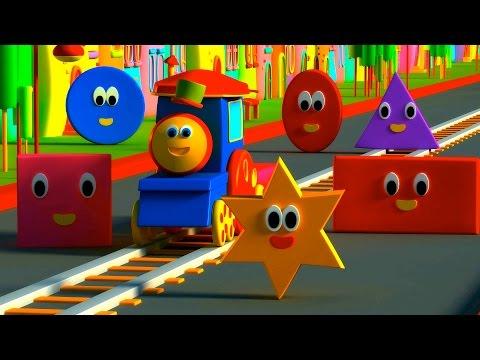 Bob le train - forme chanson Bob Train Shapes Adventure