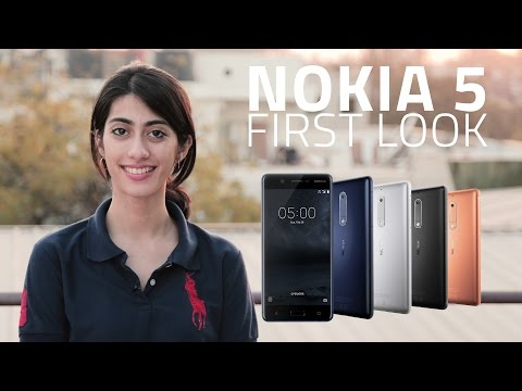 Nokia 5 First Look | Specs, Launch Details and More