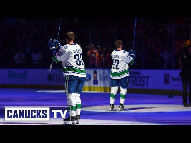 Daniel and Henrik Sedins Final NHL Game - Behind-the-Scenes
