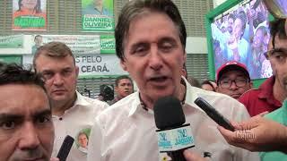 Convenção do PR e MDB - Eunício Oliveira