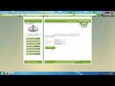 How To Download  Birth Certificate And Death Certificate Online