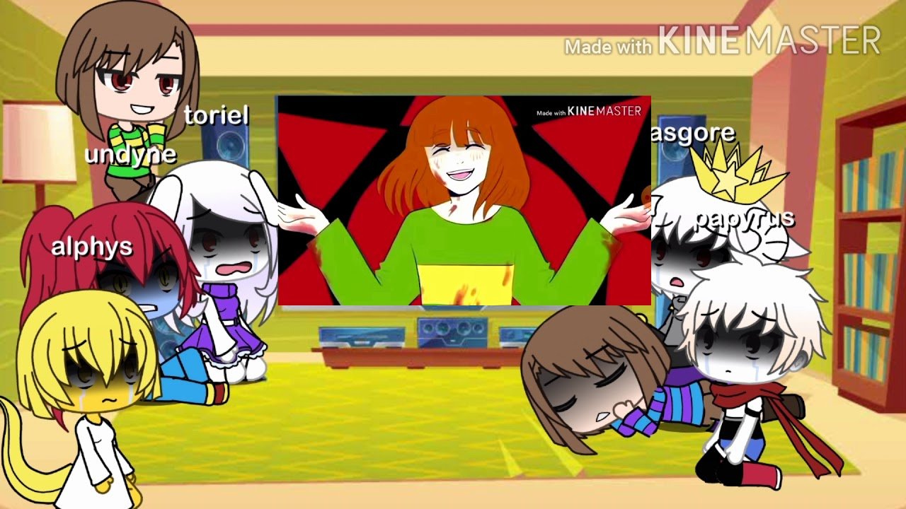 Download Undertale react to sans au memes(a bit of frisk and chara)
