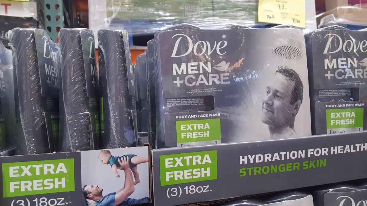 Costco Dove Men Care Body Wash 3 Pack 9 Youtube