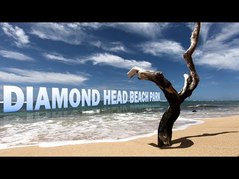 Hawaii Beach  | GoPro | Diamond Head Beach Park | Honolulu, Oahu, Hawaii, USA