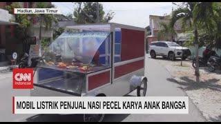 Mobil Listrik Penjual Nasi Pecel Karya Anak Bangsa