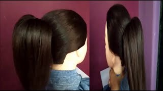 #1Trick 3 NEW High Ponytail Hairstyles#EASY Everyday High Ponytail Hairstyles#Heatless Hairstyles