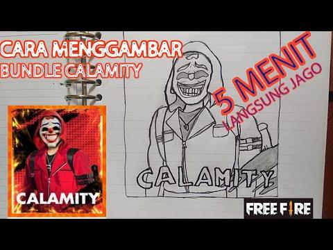 Cara Menggambar Bunlde Incubator Calimity Garena Free Fire Youtube