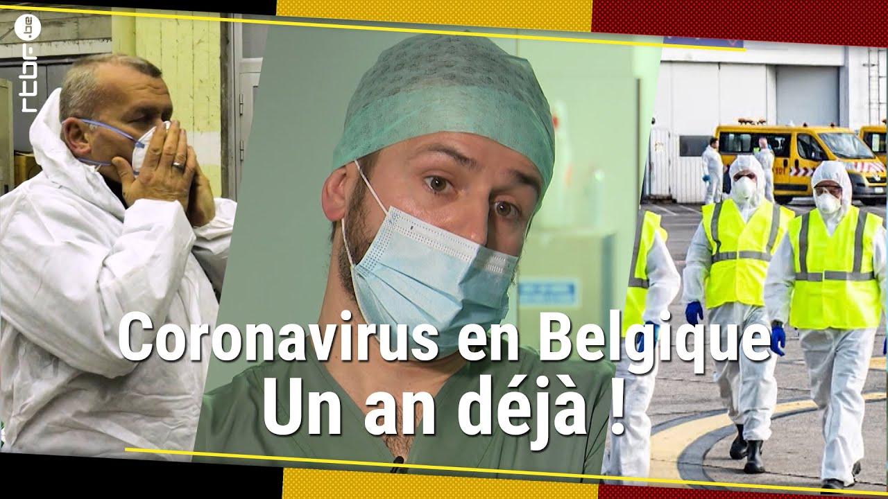 Download Coronavirus : un an après les premiers cas en Belgique - RTBF Info