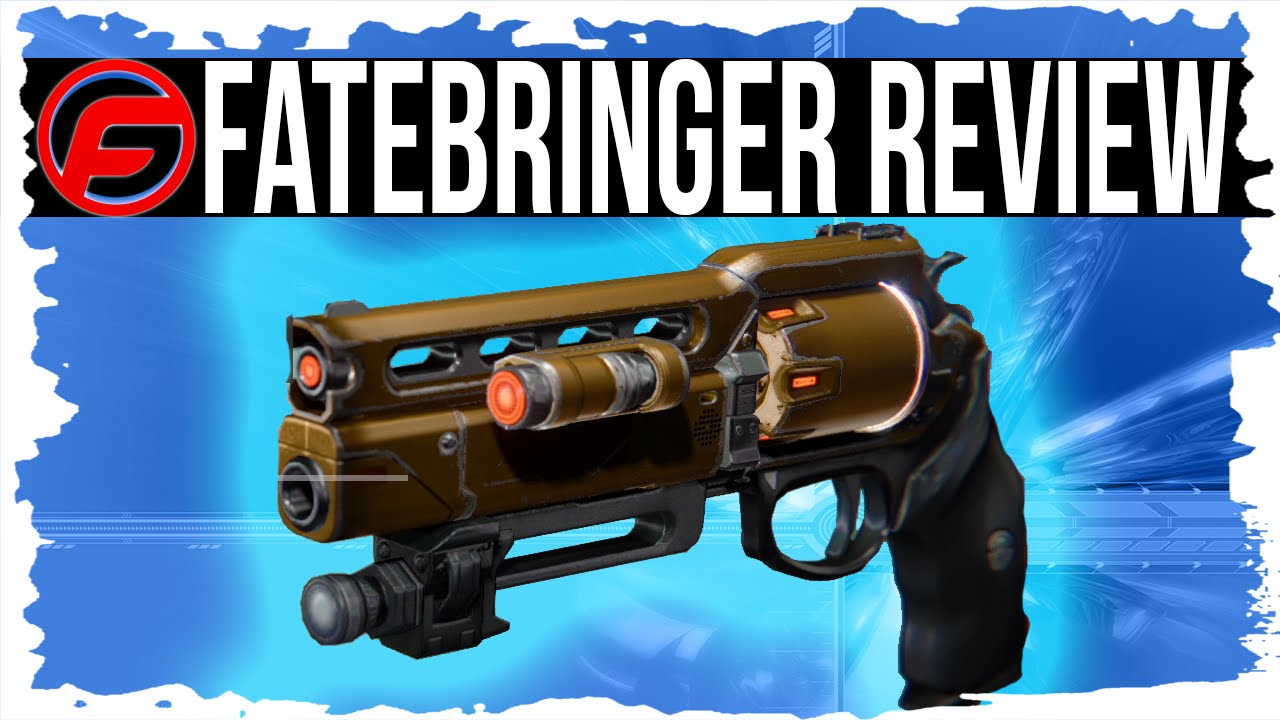 Destiny fatebringer review legendary hand cannon weapon review best