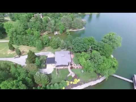 Aerial Tour of Watts Bar Lake Home Online at Tays Realty & Auction, LLC