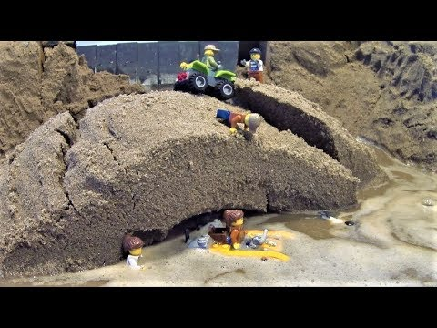 LEGO Dam Breach