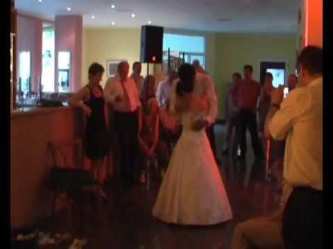 Sexy first wedding dance