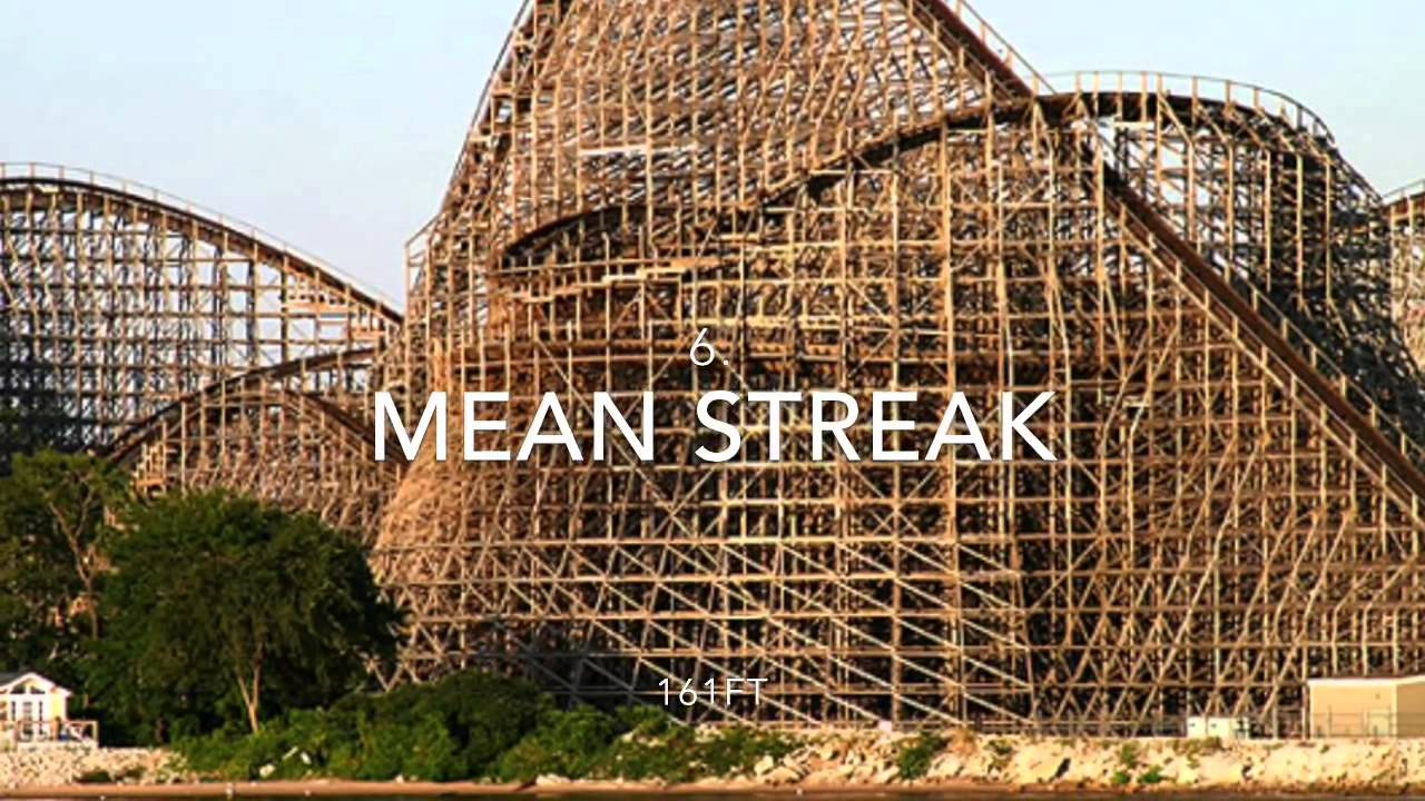 Top 10 Tallest Wooden Roller Coasters In The World 2015