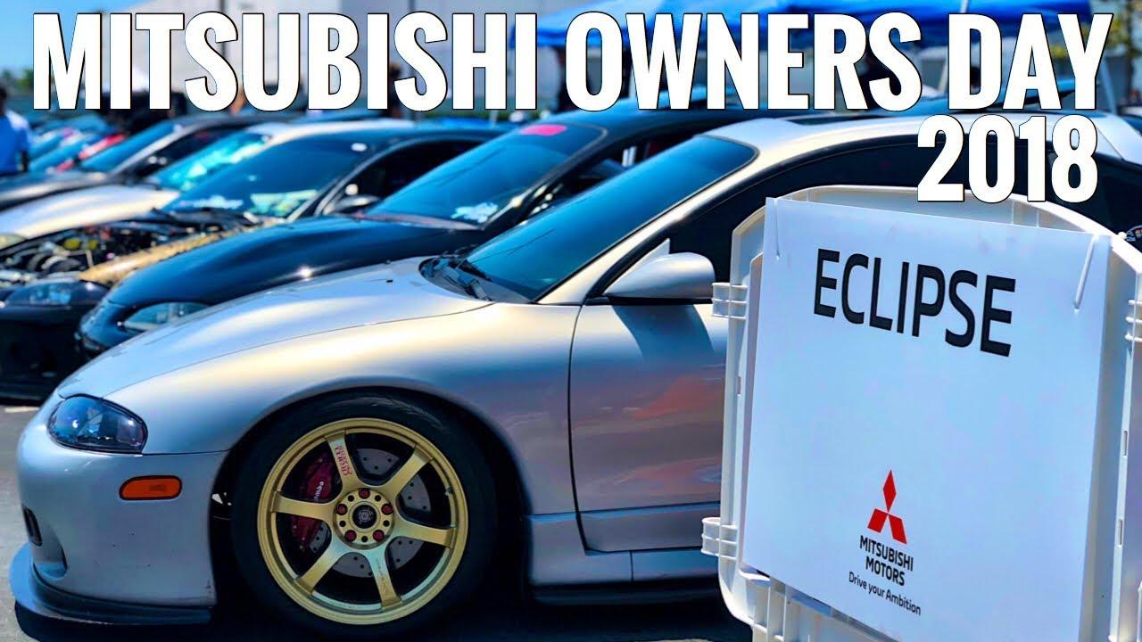 Mitsubishi Owners Day 2018