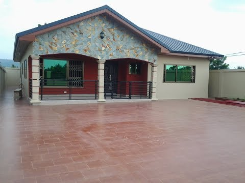 4 BEDROOM FOR SALE AT OYIBI-SASABI,ACCRA-GHANA.CALL US ON 0244764282 IF INTERESTED.