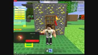Roblox Mini-Game: Minecraft Build To Survive The Mobs