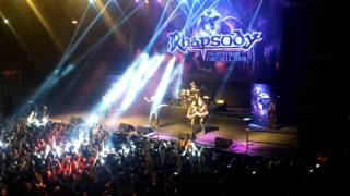 Download Rhapsody - Land of immortals live Chile 5 mayo 2017 MP3 song and Music Video