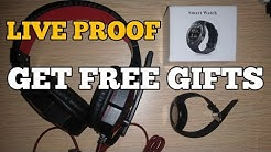 (Proof) Get FREE Earphone, Watches, USB Cables, Bluetooth Headphones (LOOT)