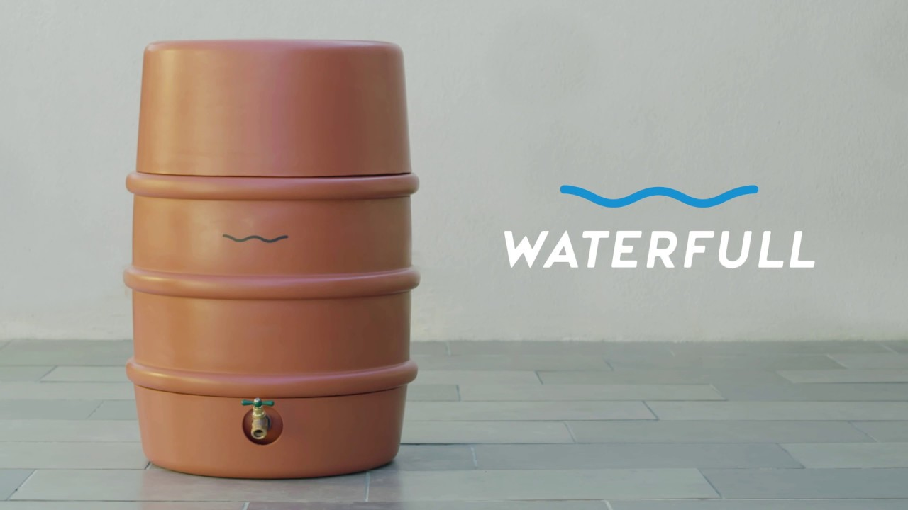 Waterfull Barrel - Emergency home water storage. Made easy.