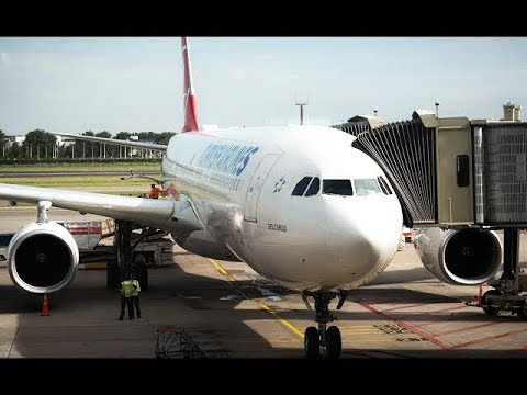 TURKISH AIRLINES ECONOMY CLASS | AMSTERDAM - ISTANBUL | AIRBUS A330-300