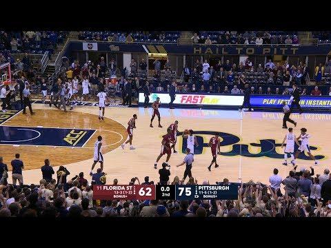 Men's Basketball | Pitt vs. No. 11 FSU Highlights