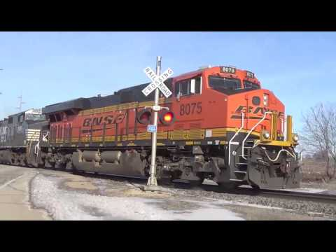 Railroad Crossings of the BNSF Aurora Sub