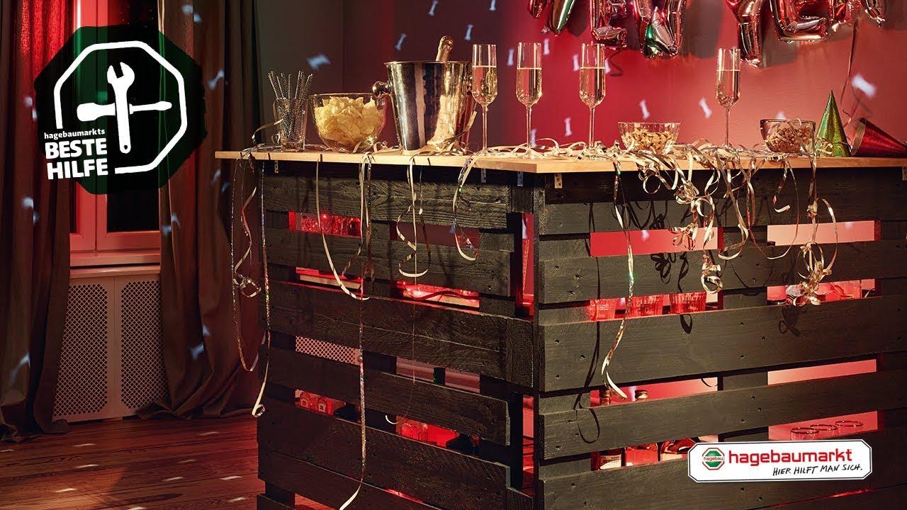 Tresen Aus Paletten Selber Bauen Diy Anleitung Mobile Partybar