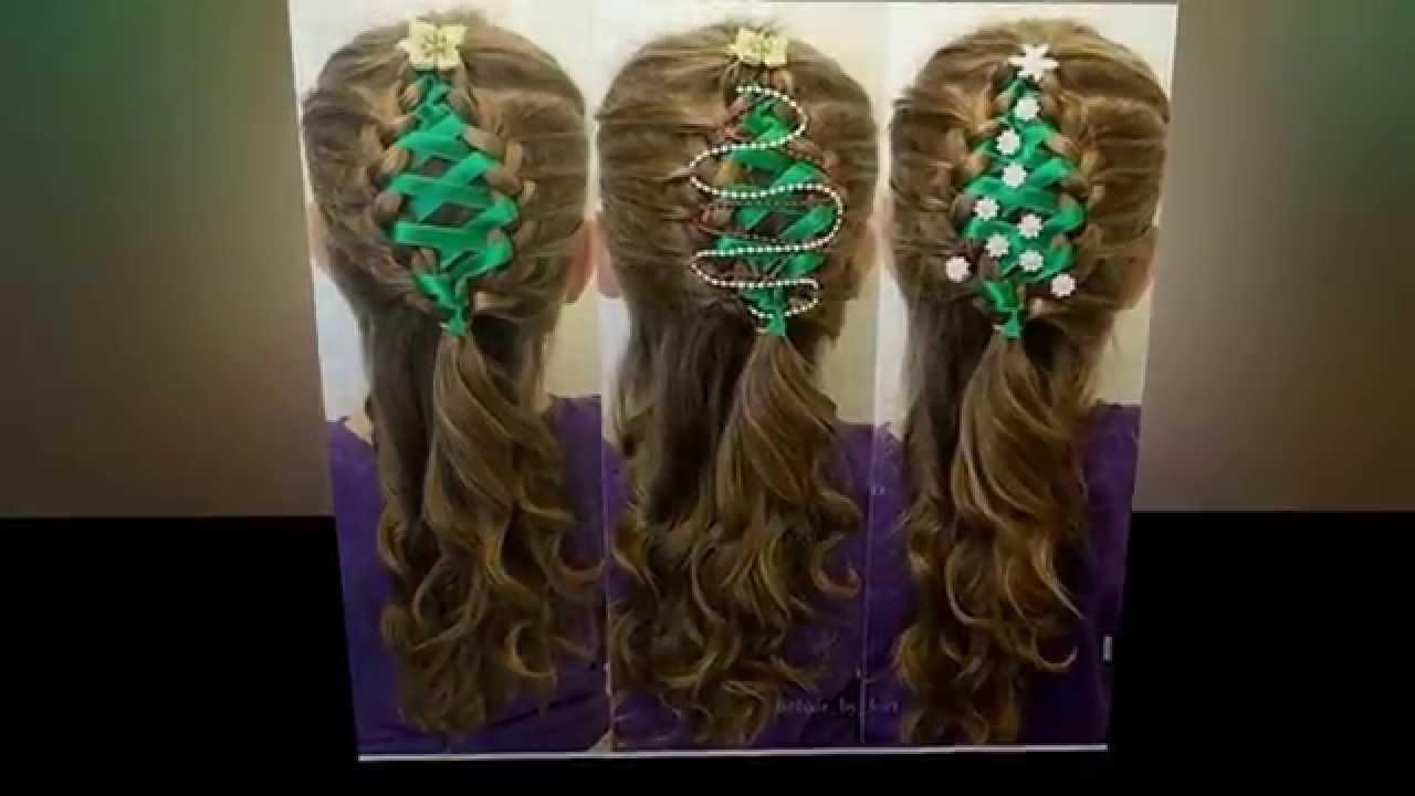 christmas hairstyles girls
