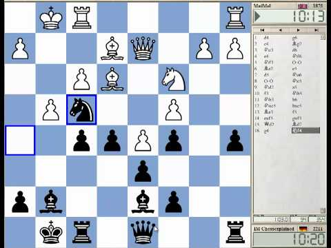 15 Min Chess #55 - Kings Indian Petrosian