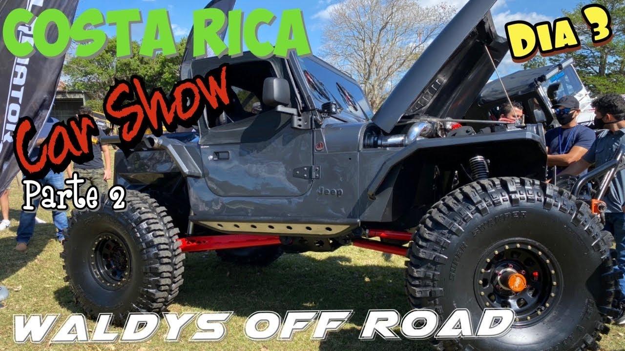 Costa Rica Dia 3 Car Show by Minion  en Heredia- Waldys Off Road