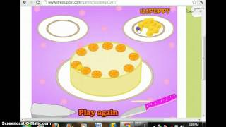 How To Make Orange Crunch Cake And How To Cook A Turkey