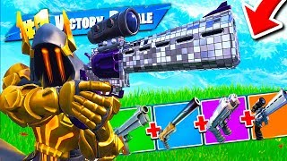 ONLY BATTLE PISTOLES : New GUN WITH MIRINO edition FORTNITE ITA Real Victory
