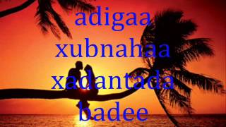 xasil by ikraan caraale ft c/holland with lyrics