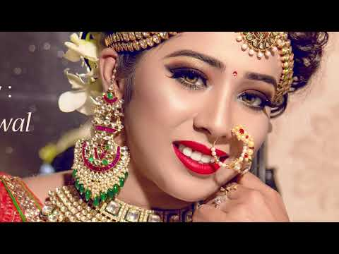 Indian Bridal Makeover | Makeup Artist Siddhart Jaiswal | Photographer LOukik Das |