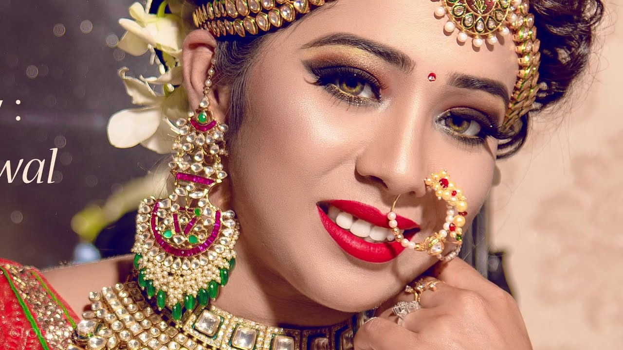 Mehndi Makeup Artist : Indian bridal makeover makeup artist siddhart jaiswal