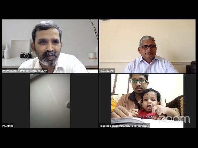 International Adventist Family in Christ | Bible Study | Forum | Pr. Vasanthakumar {London}