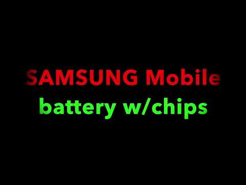 SAMSUNG battery w/chips?????