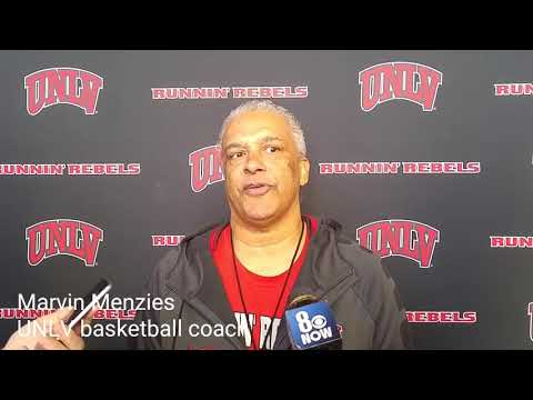 UNLV's Menzies, Juiston talk about coming back from loss