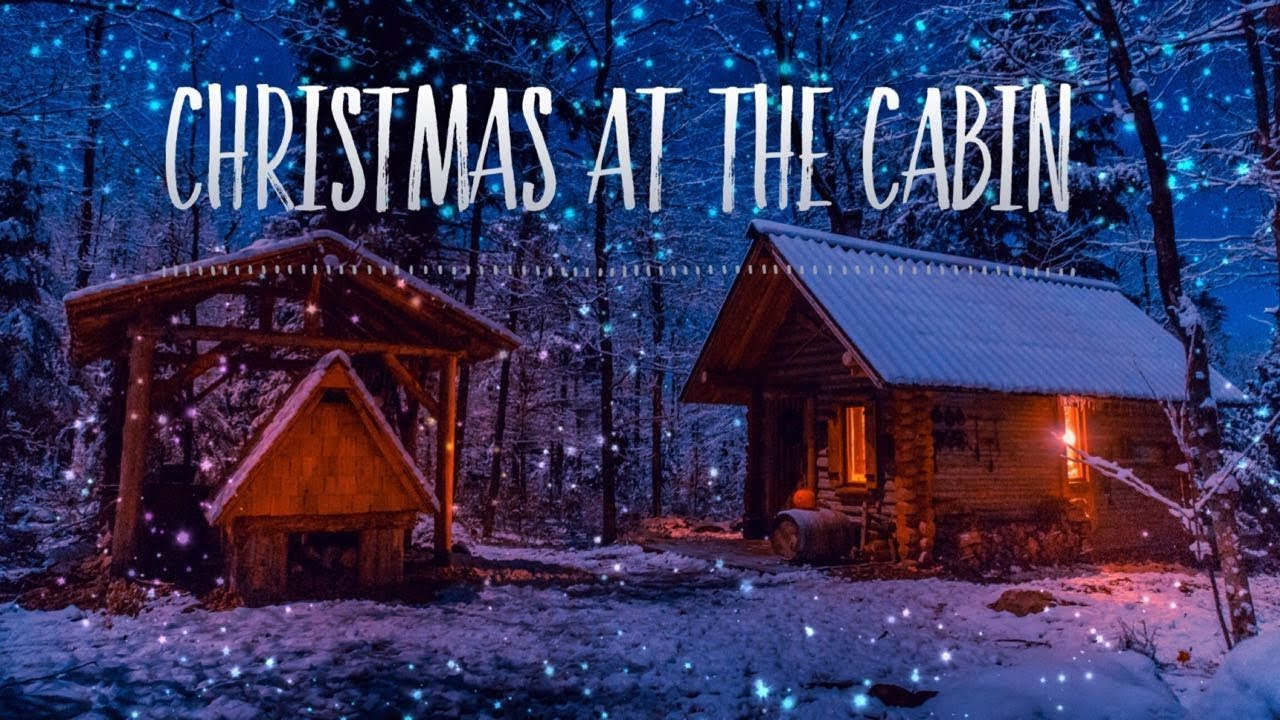 Log Cabin Christmas.Christmas At A Log Cabin In The Canadian Wilderness Roast Turkey In A Primitive Oven