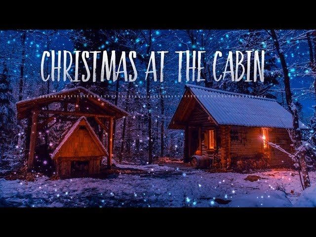 Christmas at a Log Cabin in the Canadian Wilderness | Roast Turkey in a Primitive Oven