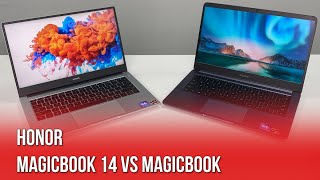 HONOR MagicBook 14 vs HONOR MagicBook: What's The Difference?
