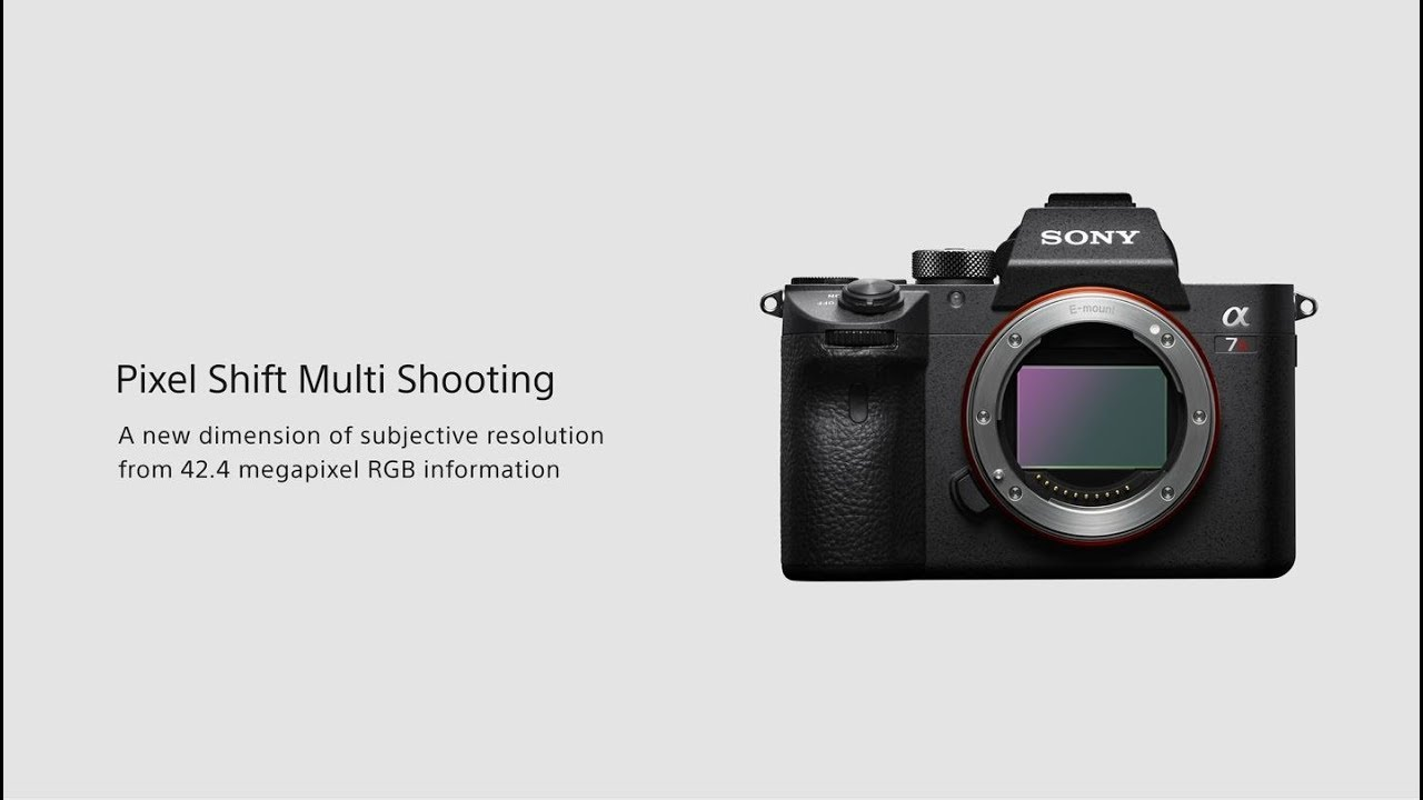 Testing Sony's New Pixel Shift Feature in the a7R III