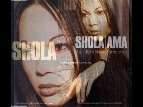 Shola Ama ~ You Might Need Somebody  (Vinyl version)
