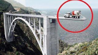 Самая мощная техника для постройки мостов...