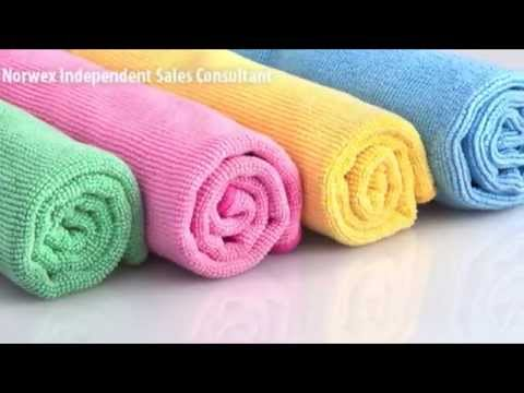 How to Care For & Deep Clean Your Norwex Microfiber | Lindsay Mercer