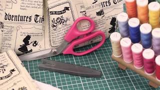 видео Профессиональные портновские ножницы